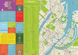 map of copenhagen sustainable city map gogreen copenhagen on behance
