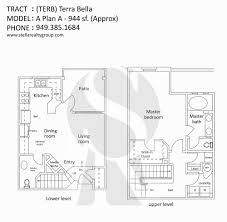 homes for sale in terra bella irvine view floor plans
