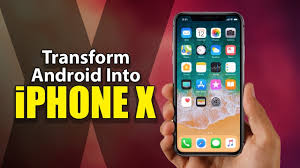 turn android into iphone how to turn your android phone into an iphone x