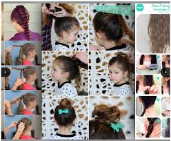 How To Make Hairstyles For Girls by Easy Little Hairstyles Android Apps On Google Play