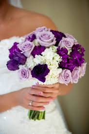 bouquets for wedding purple wedding bouquets in purple 2107634 weddbook