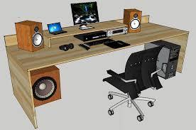 Schreibtisch Klein Holz Gamer Schreibtisch Selber Bauen Saigonford Info