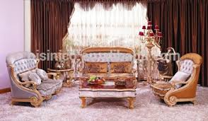 luxury european victorian style living room beige sofa set fancy