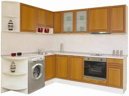 European Modular Kitchen by Exciting European Kitchen Cabinets Featuring Red Color Wooden