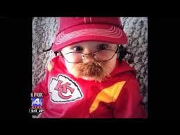 Chiefs Halloween Costumes Baby Dressed Kansas Chiefs Head Coach Andy Reid