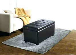 Brown Ottoman Storage Brown Leather Tufted Ottoman Brown Leather Ottoman Storage