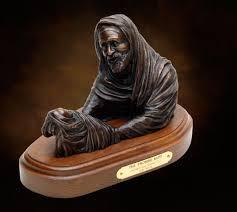 biblical gifts tabletop bronze sculpture abraham isaac promise kept