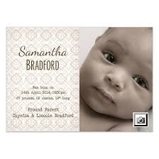 baby announcement cards patterned new born baby announcement invitations cards on pingg