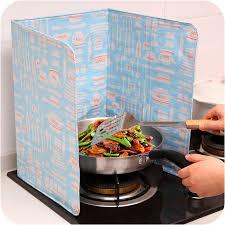 blinder cuisine kitchen grease splash baffle cooking plate stove anti splatter
