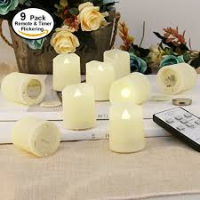 outdoor led tea lights tealights with timer and remote outdoor led flameless candles