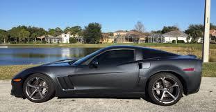 corvette c6 grand sport fs corvette grand sport cyber grey 6 speed corvetteforum