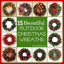 christmas wreaths for sale 15 beautiful outdoor christmas wreaths front door decor