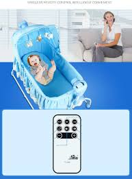 Newborn Swing Chair Baby Crib Bed Newborn Infant Rocking Chair Music Toys Baby Bed