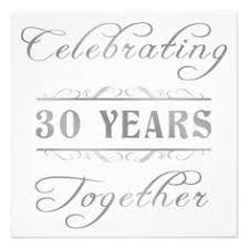 30 wedding anniversary 30 years wedding anniversary tbrb info