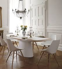 modern white dining room ebizby design