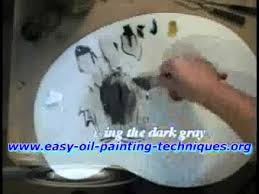 so how do you mix the gray mixtures for the underpainting studio