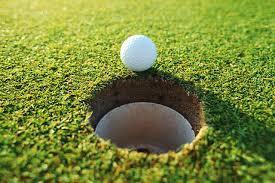how long can a golfer wait for a ball hanging on the lip of the