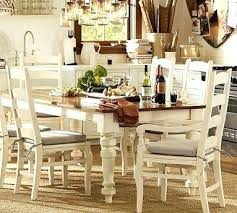 pottery barn dining room furniture reviews table ebay and chairs