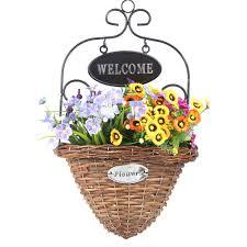 Garden Baskets Wall by Online Get Cheap Welcome Flowers Aliexpress Com Alibaba Group