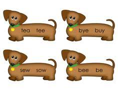 kids love to learn homophones homonyms with these fun cut and