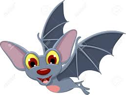 cartoon halloween bat flying royalty free cliparts vectors and