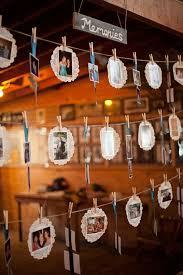 cheap wedding decorations ideas 26 creative diy photo display wedding decor ideas tulle