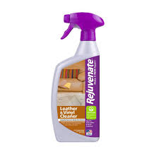Leather Sofa Gone Sticky Rejuvenate 24 Oz Leather And Vinyl Cleaner Rj24cl The Home Depot