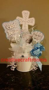 Centerpieces For Baptism For A Boy by Baptism Christening Centerpieces By Creativecraftrooms On Etsy