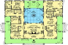 spanish style homes plans spanish style home plans with courtyards spanish hacienda courtyard