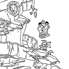 zoo coloring pages 5 coloring kids