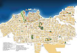 Crete Map Map Of Chania Town