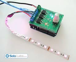 diy arduino rgb led controller shield labs