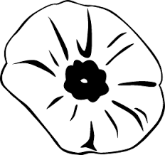 gerald poppy remembrance coloring book colouring sheet