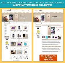 professional ebay template in smartphone theme low rates simple