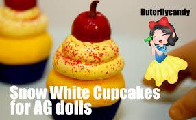 snow white cupcakes american food tutorial dessert cake