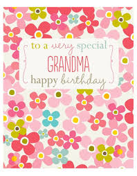 special grandma birthday card grandma birthday card