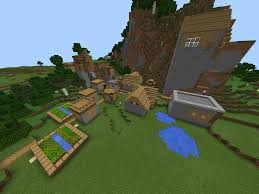 minecraft pe village seeds epic minecraft pe seeds