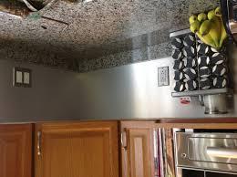 easy kitchen backsplash inexpensive kitchen backsplash used material from a signage store