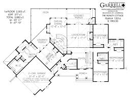 nunley cottage house plan house plans by garrell associates inc nunley cottage house plan 12014 1st floor plan