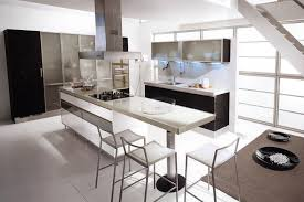 endearing black and white kitchens with custom racks and kitchen