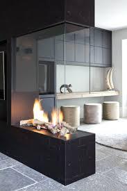 fireplace 2nd hand ethanol 2 sided modern tile ideas best design