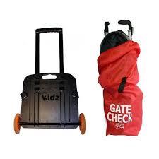 go go kids travelmate gogo babyz kidz travelmate with umbrella stroller gate check bag