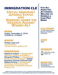 Immigration Special Save The Date 11 4 16 Immigration Cle