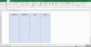 Excel Swimlane Template How To A Swimlane Diagram In Excel Lucidchart