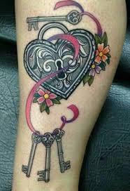 Locket Tattoo Ideas Heart Locket W Ribbon Tattoo Design By Push It Art Random