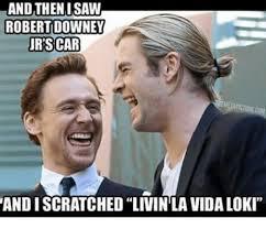 Robert Downey Jr Meme - and then i saw robert downey jr scar andiscratched livin la vida