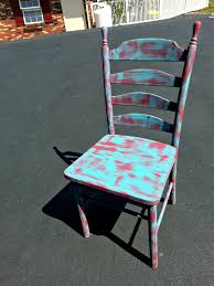 Paint Shabby Chic Furniture by How To Paint A Chair Rustic And Shabby Chic Furniture Fun Live