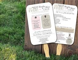 wedding program on a fan top 10 best wedding programs to buy online