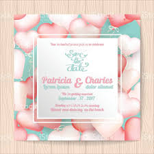 Thailand Wedding Invitation Card Wedding Invitation Card Templates Sweet Heart Balloon Background