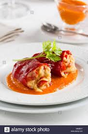 cuisine basque piquillo peppers stuffed with cod basque cuisine